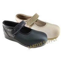 Pedors Mary Jane Stretch Orthopedic Shoes, #500 Black, #501 Beige