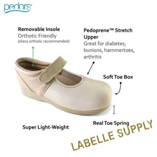 Pedors Mary Jane Shoes info