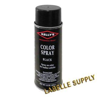 Kellys Colour Spray 12 oz Black