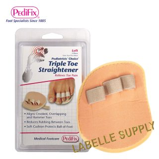 Pedifix Triple Toe Straightener