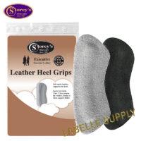 Storey's Heel Grips: Leather