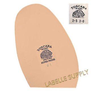 Italian Toscana Super Prime Leather Half Soles