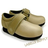 Pedors #601 Velcro Shoes Beige