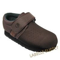Pedors #605 Velcro Shoes Brown