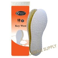 Storey's Key West Insoles : White