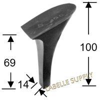 #95593 Plastic Heels