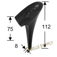 #100595 Plastic Heels
