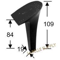 #105594 Plastic Heels