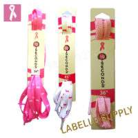 10 Seconds Pink Flat Athletic Laces