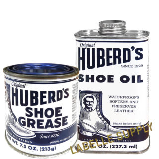 Huberd's Shoe Grease and Oil