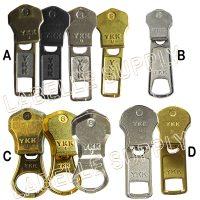 Sliders Metal Zipper