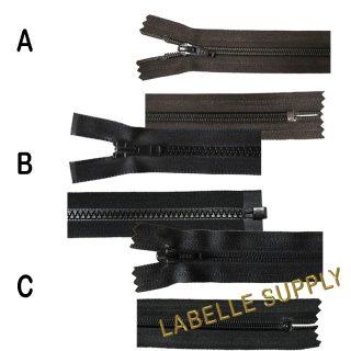 YKK Premade Nylon Zippers