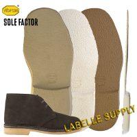 Vibram Sole Factor 2602 Desert Boot Full Soles